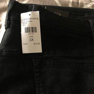 Fashion Nova- Jean Genie Jeans( black) size-3X